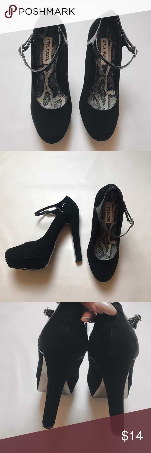 Steve Madden 👠 👠Size 8.5 Good condition . 🌪Same Day