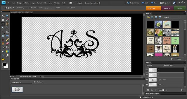 how to create a watermark using photoshop cs6