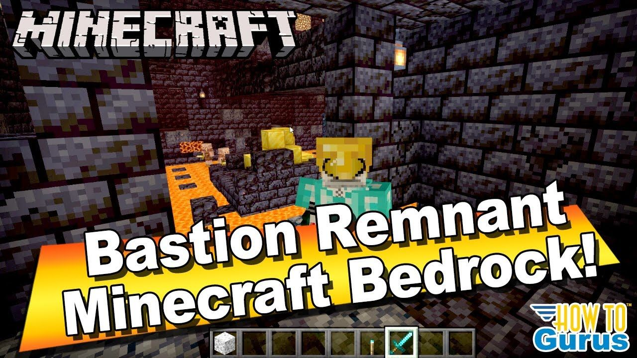 How To Locate A Nether Bastion Remnant In Minecraft Bedrock Windows 10 E Bastion Minecraft Bedrock
