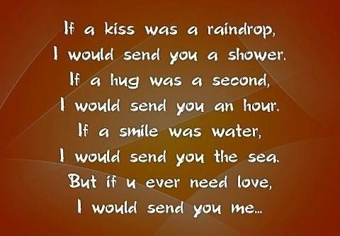 Sending you a kiss