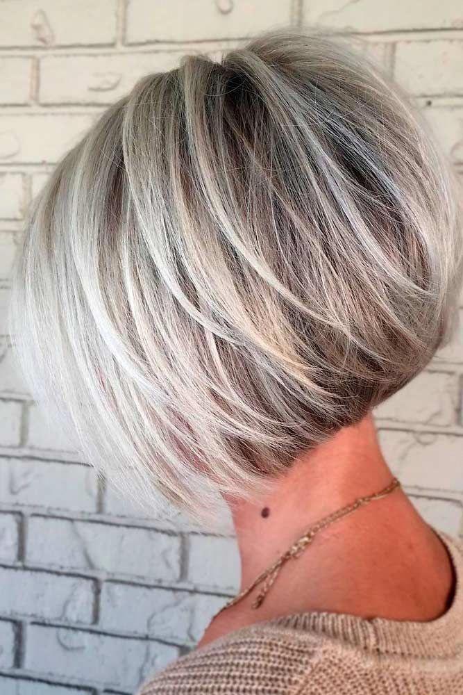 30 Ideas Of Wearing Short Layered Hair For Women #finehair