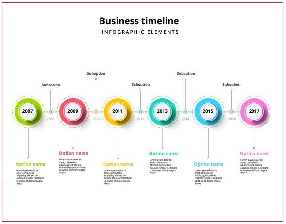 Business Timeline Template 4+ Free Printable PDF and Excel
