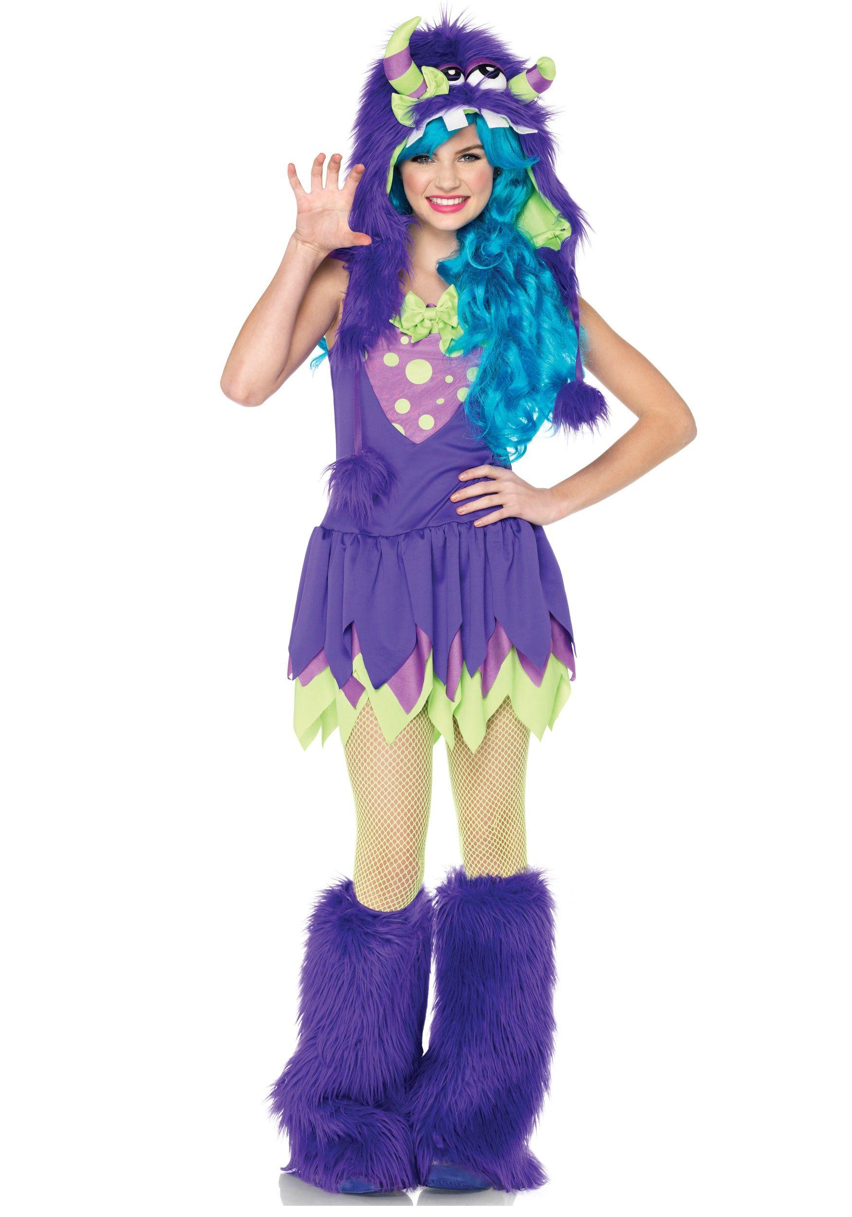 Teen Miss Gerty Growler Monster Costume | Halloween costumes ...