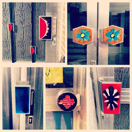 selectie van enkele deurkrukken in #gent