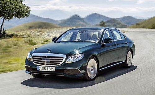 Giá xe Mercedes E-class 2017 mới nhất hôm nay