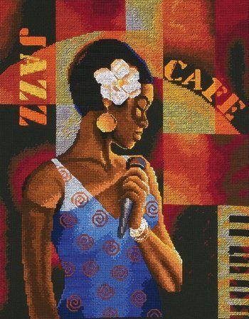 African-American - Cross Stitch Patterns & Kits - 123Stitch.com