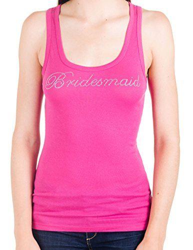 Bridesmaid Rhinestone Longer Length Tank (Small, Berry Pink) Bling Bling Bridal http://www.amazon.com/dp/B007WMMJG2/ref=cm_sw_r_pi_dp_rLRAub1ZKSAYQ