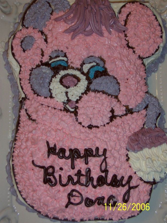 My Sisterss Popples Birthday Party Cake Best Birthday Cake Ever
