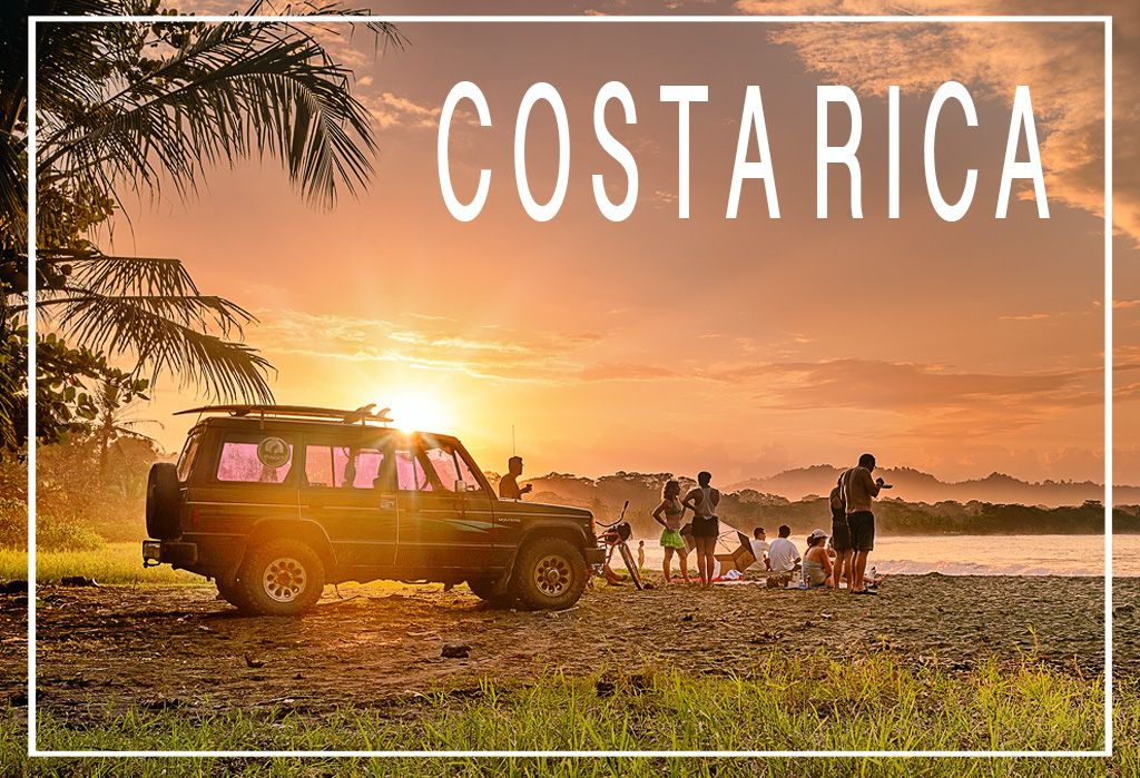 Costa rica surfing with rastafari guys and living the