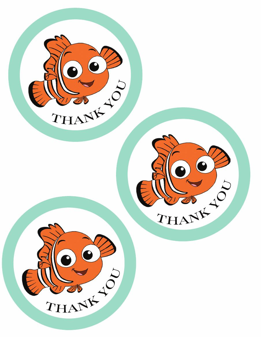 finding nemo party {free printables} in 2018 | DIY Party Nemo Dory ...