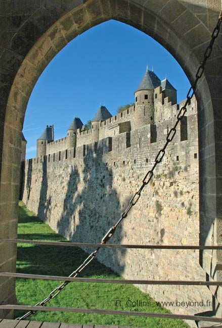 Carcassonne, Languedoc, France © Russ Collins