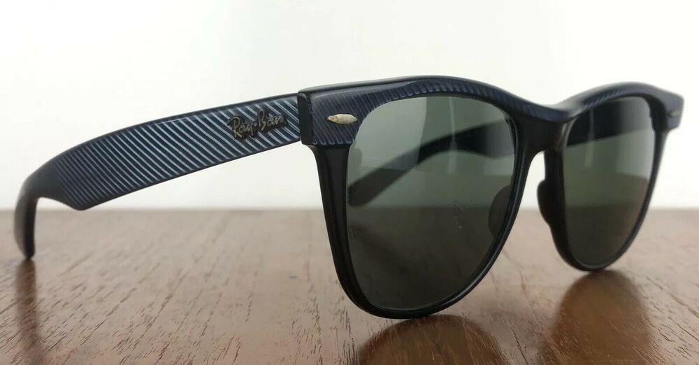 5eafb855bd Ray Ban Wayfarer II Street Neat Slate Blue W0493 Vintage Sunglasses Rare   affilink  vintagesunglasses