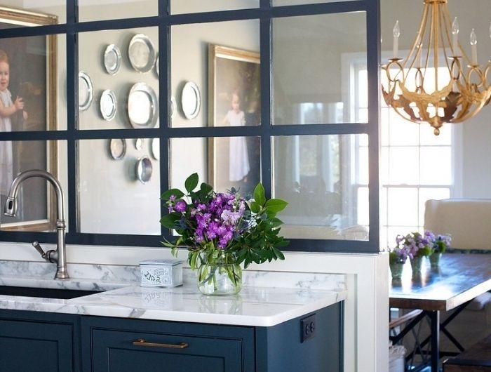 ▷ 1001 + idées pour la cuisine ouverte avec verrière - modele de cuisine americaine