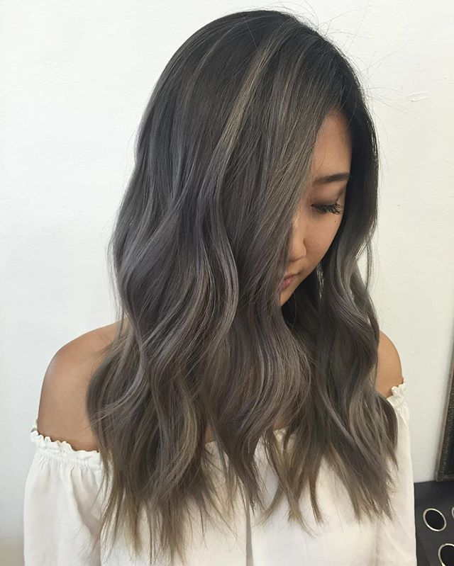 Instagram Photo By Kanika Young Jul 22 2016 At 4 01am Utc Hair Color Asian Balayage Hair Ash Hair Color