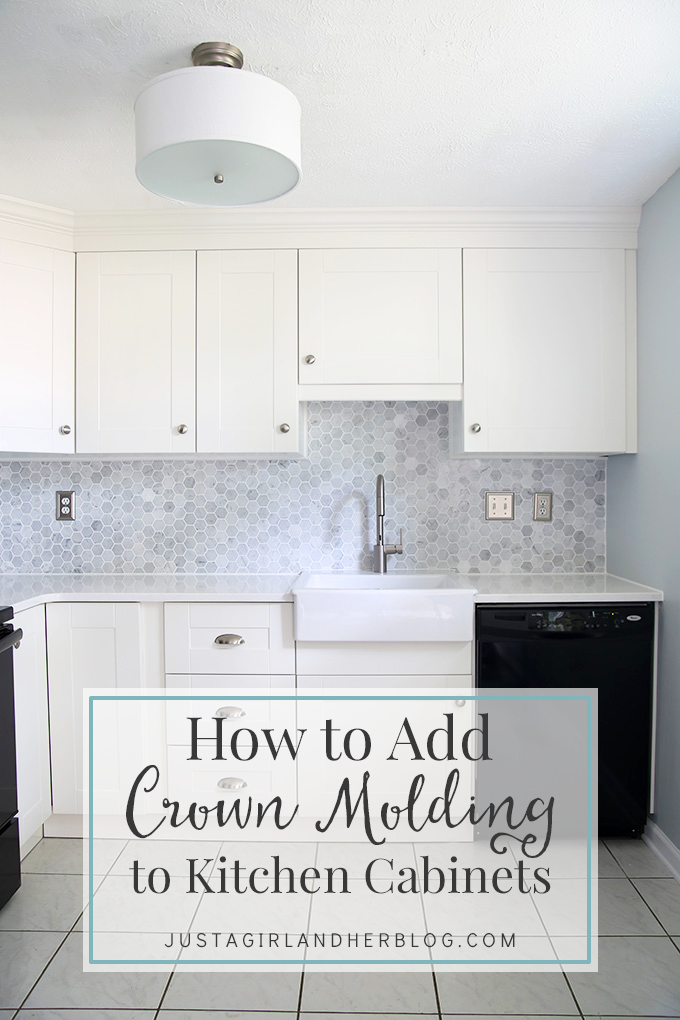 How To Add Crown Molding To Kitchen Cabinets Remodeling