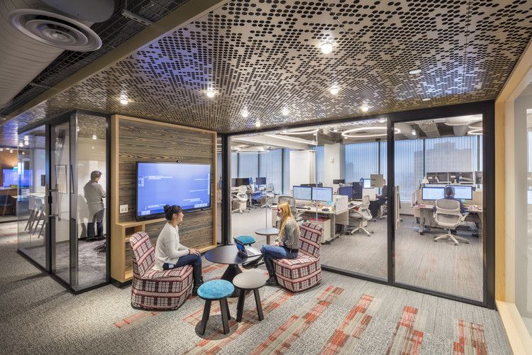 Gallery Of Microsoft New England Research Development Center Sasaki 16 Workplace Design Work Office Decor Design