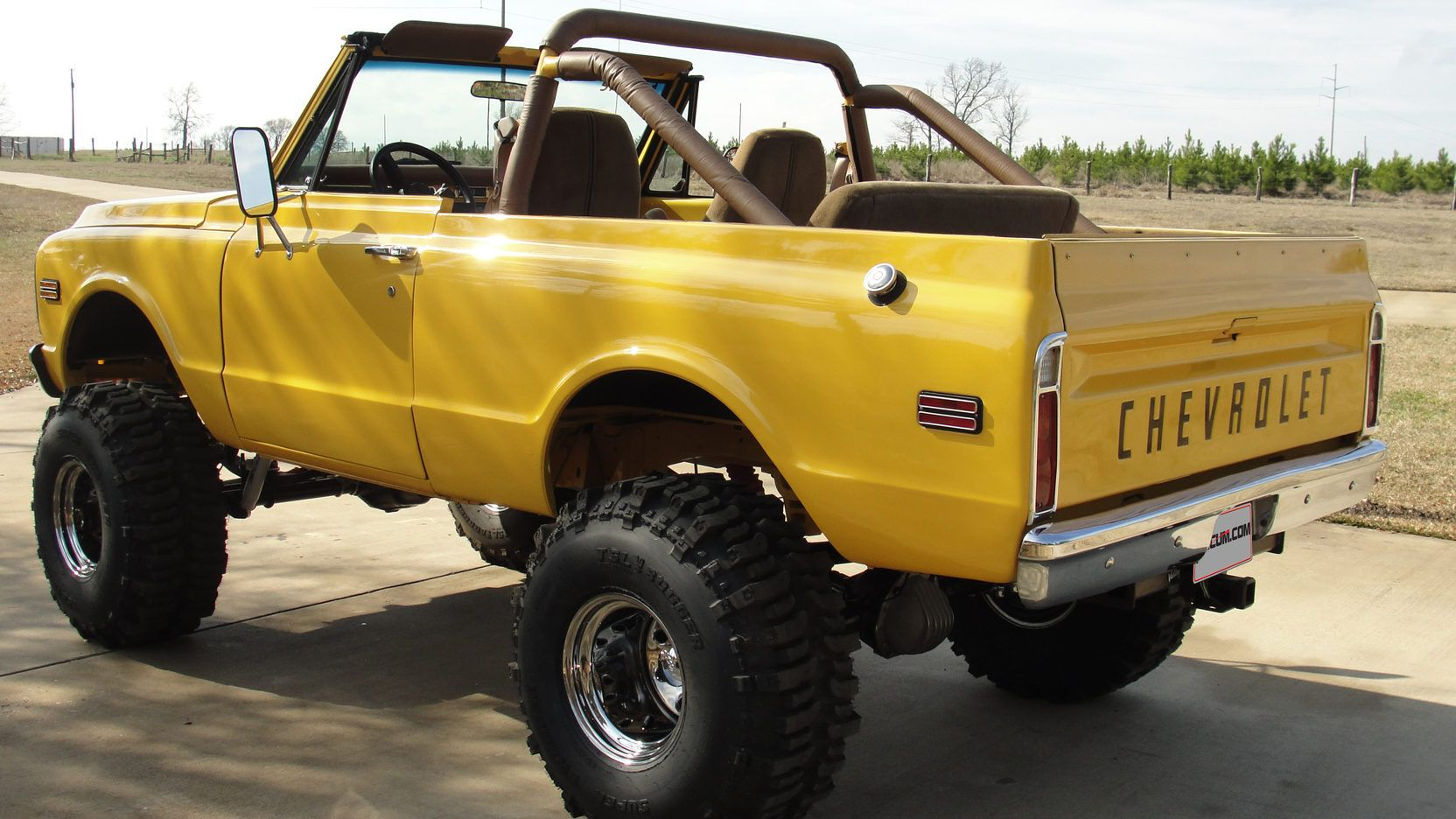1972 Chevrolet K5 Blazer Presented As Lot F44 At Houston Tx With