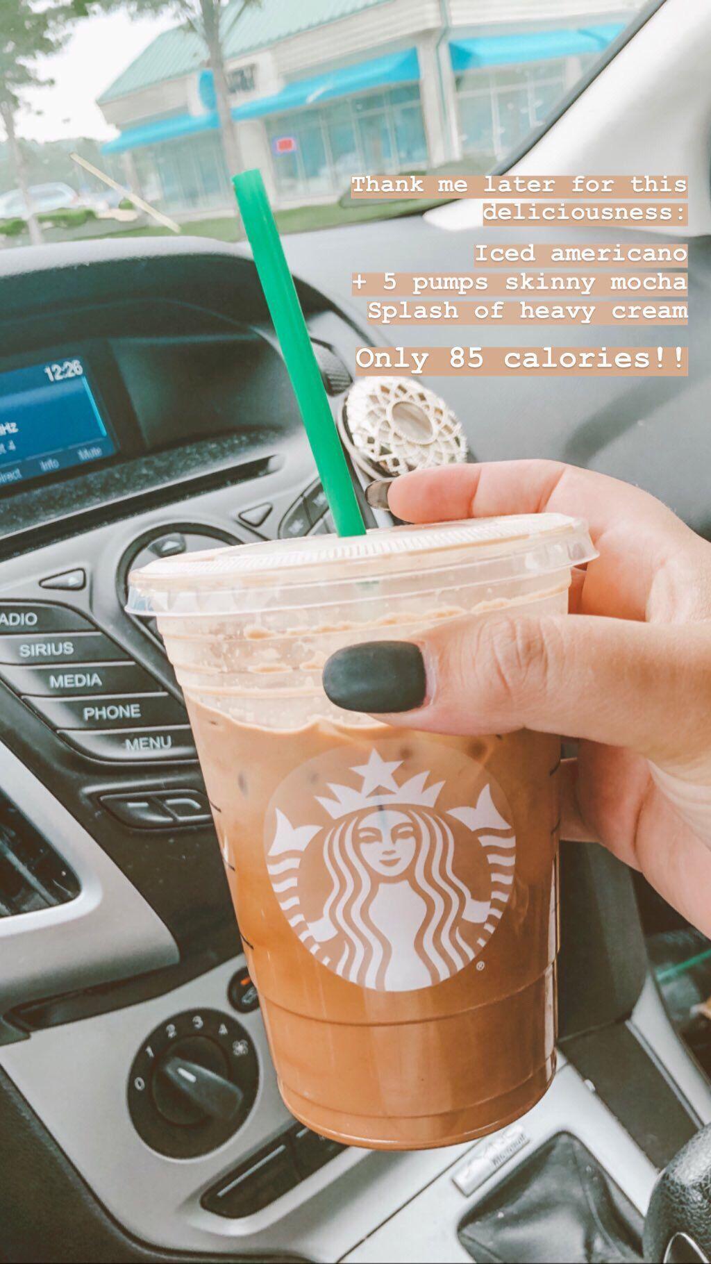Guilt Free Starbucks Healthystarbucksdrinks Delicious And Guilt Free Starbucks Order Iced Starbucks Drinks Starbucks Coffee Drinks Starbucks Drinks Recipes