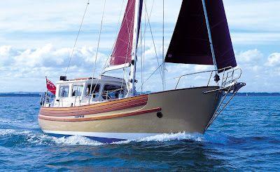 Sail Far Live Free - Relent to Water Wanderlust!: A Proper StinkPot: Top 5 Pilothouse Motorsailers