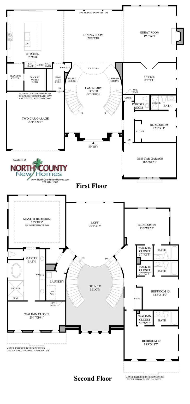 The Bluffs at Robertson Ranch Floor Plans