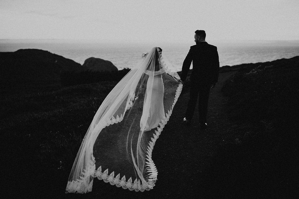 Northern california redwoods elopement wedding northern