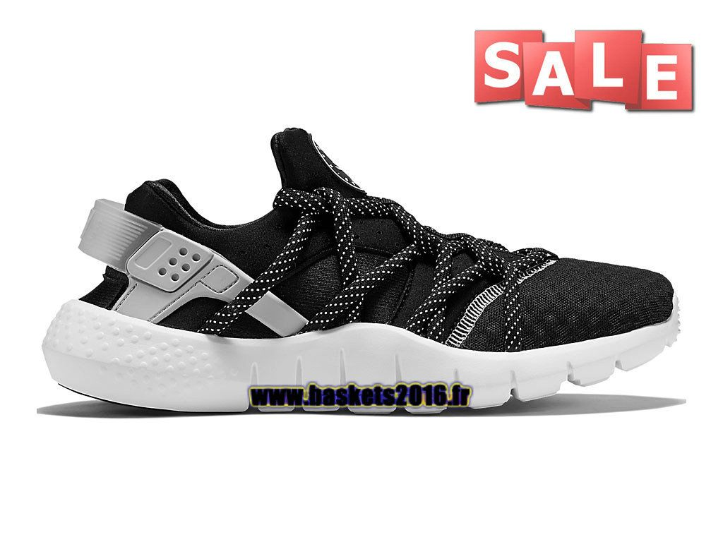 sports shoes 35673 9e667 ... greece nike air huarache nm chaussures pas cher pour femme nike  officiel noir blanc 0251 3e7ac