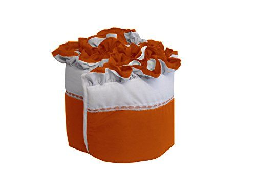 Baby Doll Bedding Regal Crib Bumper Orange To View Further For This Item Visit The Image Link Note It Is A