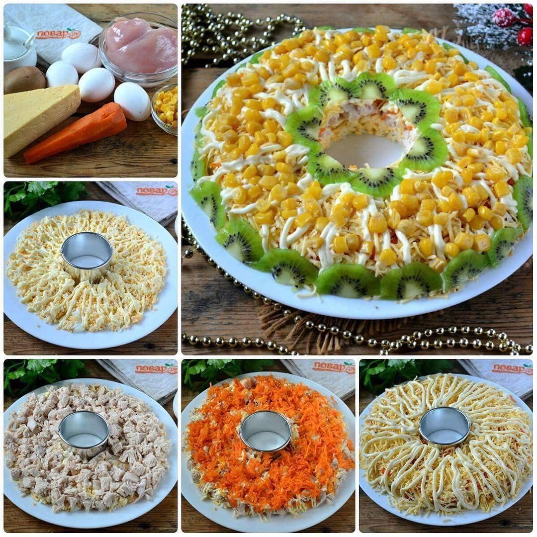 Куриный салат на праздничный стол. Ингредиент (с ...
