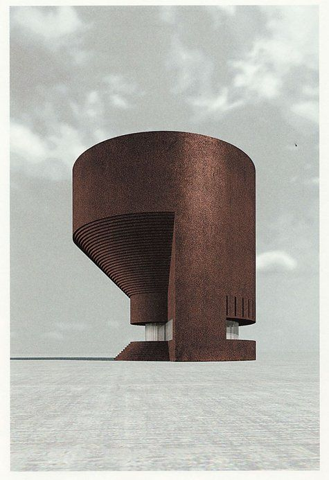 SFMOMA | Explore Modern Art | Our Collection | Simon Ungers | Silent Architecture [Theater rendering]