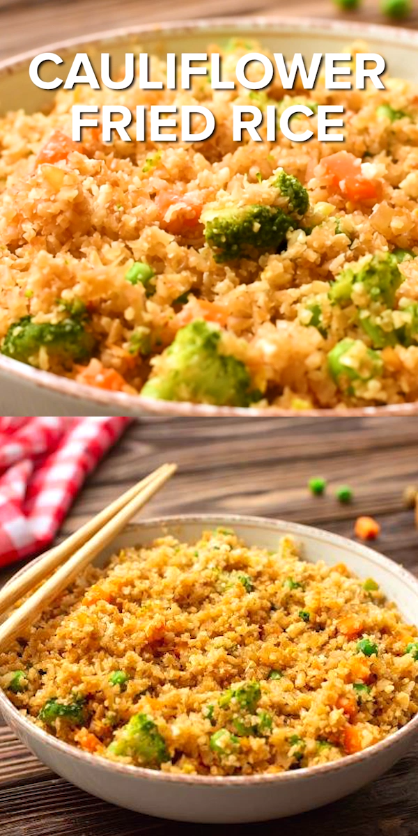 Cauliflower Fried Rice (video) images