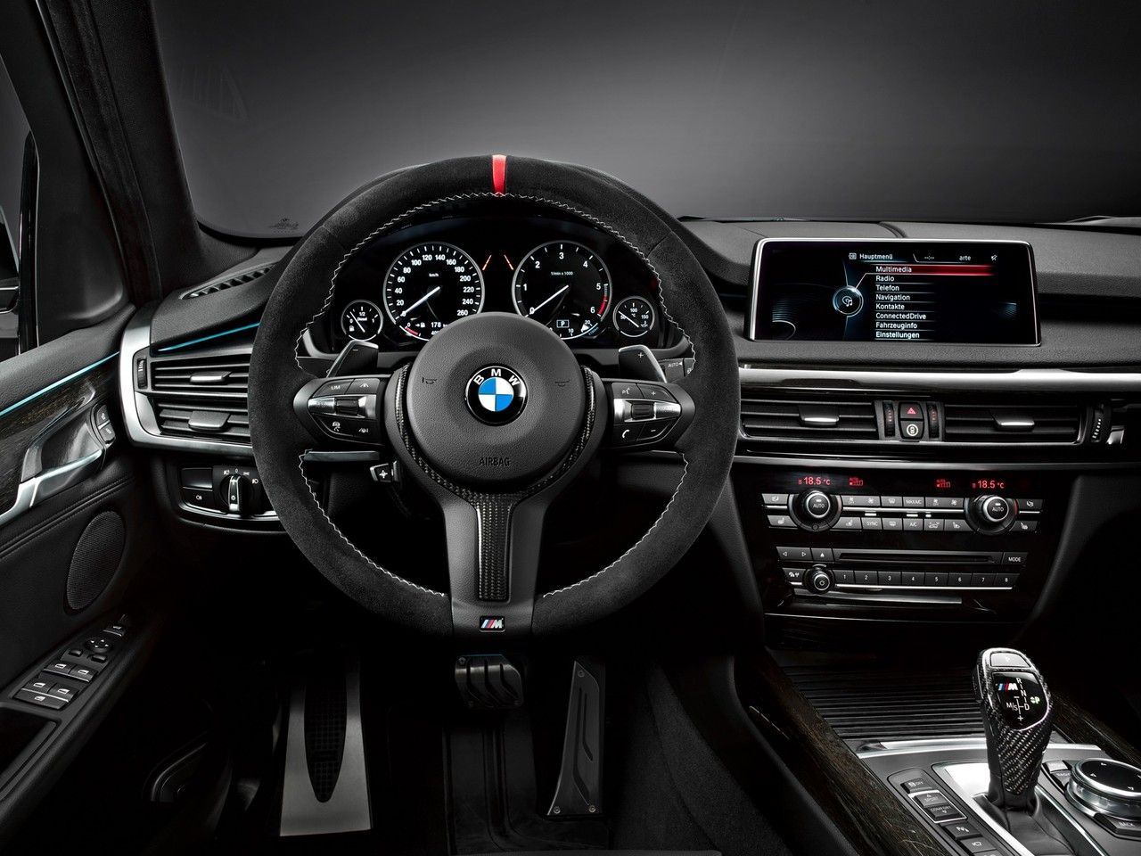 2013 BMW X5 M Love My Interior Black On Dark Wood Grain