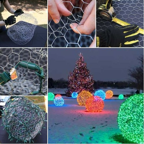These Christmas Light Balls Are Just Awesome -   www