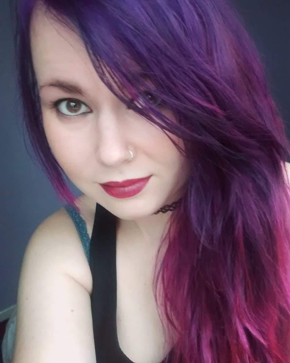 Finally Tried Splat Hair Dye And I Absolutely Love The Result Splat Hair Dye Splat Purple Hair Dye Dyed Hair