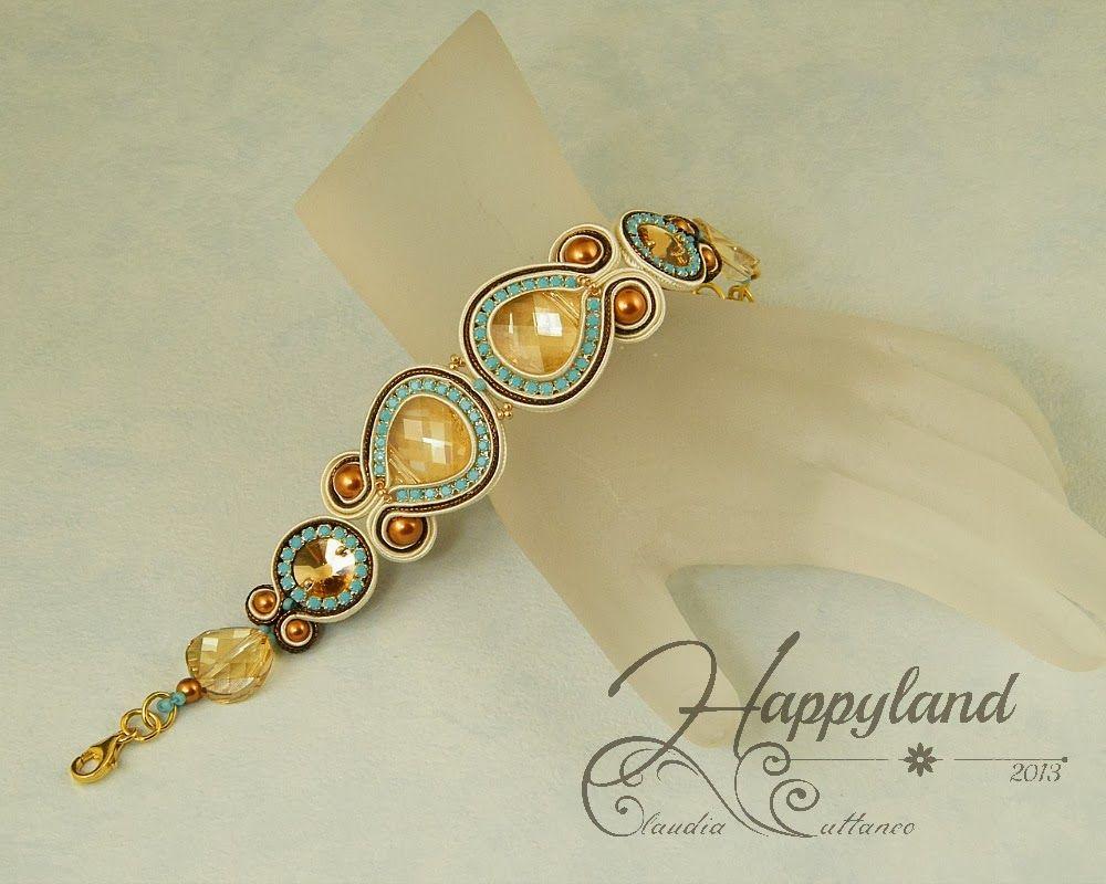 Capodannoaicaraibig soutache jewelry pinterest