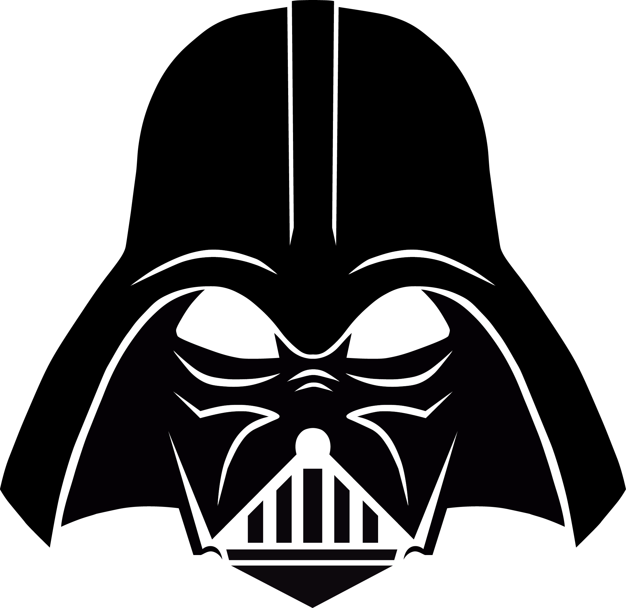 Darth vader stencil free download desenhos cartoon - Pochoir star wars ...