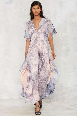 Flying high maxi dress