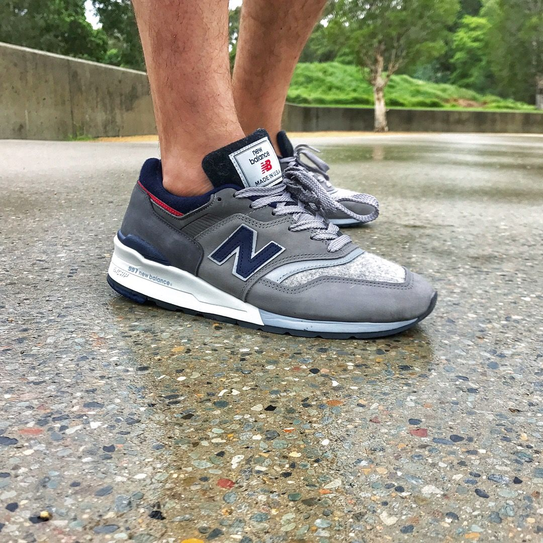 the best attitude 80e25 0f4af Woolrich x New Balance M997WL | Sneakers: New Balance 997 in ...