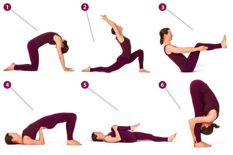 6 Yoga Übungen für einen entspannten unteren Rücken