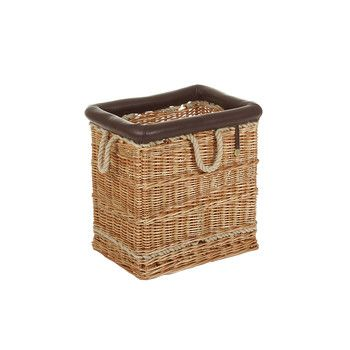 Mulberry Home - Log Basket - Natural - Small
