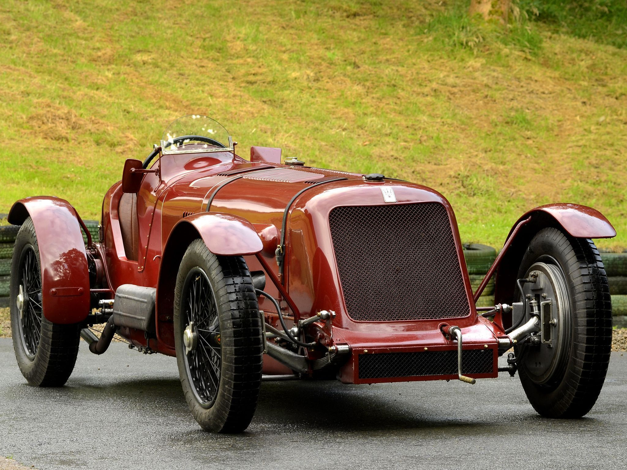1929 Maserati Tipo V 4 Racing Car maserativintagecars