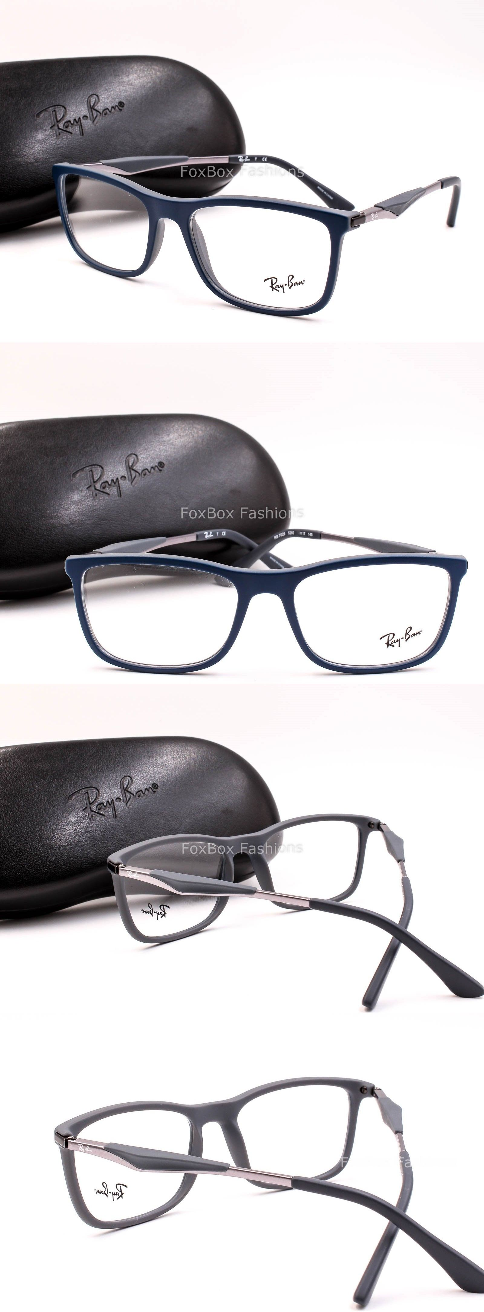 Eyeglass Frames: Ray Ban 7029 5260 Mens Eyeglasses Optical Frame ...