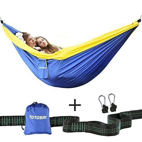 double camping hammock portable parachute nylon travel backpacking beach yard double camping hammock portable parachute nylon travel backpacking      rh   pinterest
