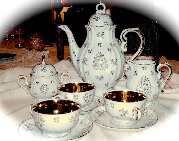 Bavarian China Coffee Service Set