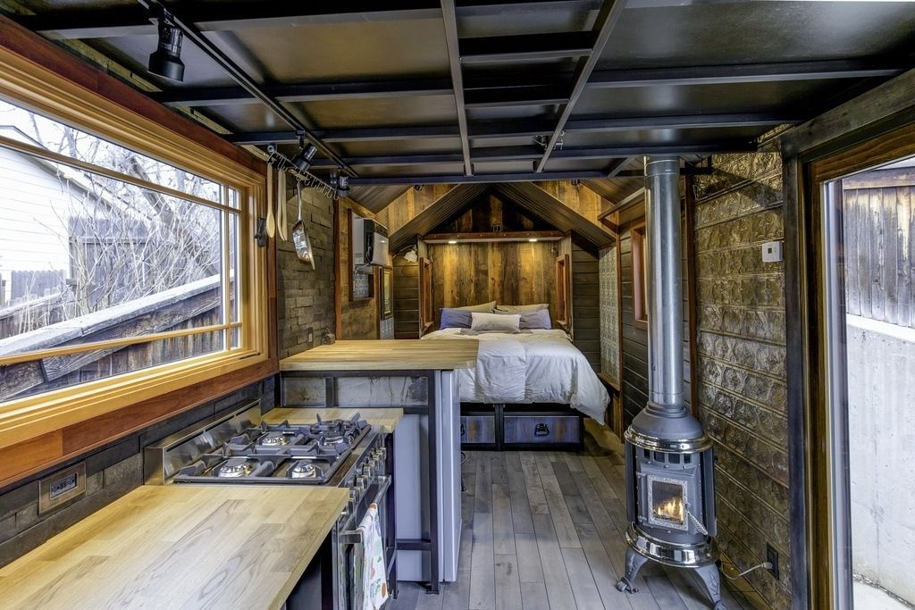This Tiny House Boasts Luxury Features And Eclectic Decor Choices