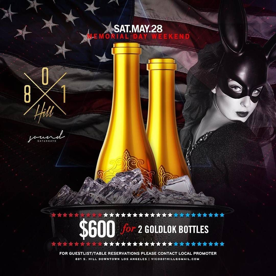 #mdw This Saturday #soldoutsaturdays Returns With an Open Bar and Insane Bottle Specials .. Come Thru This Weekend  Reserve a Vip Table for Guaranteed Entry Text us at 8182006751 General Admission 21 Guestlist Also Available Birthdays In Free Large Group Discounts  Party Bus Discounts $99 Absolute before 11 PM - 2 Vodka  Champagne for $500 - 2 Buchanas  champagne for $620 - 2 GoldLokVodka $600 - 1 Hennessy 1 GoldLokVodka 1 Champagne for $700 - Multiple Bottle SPECIALS