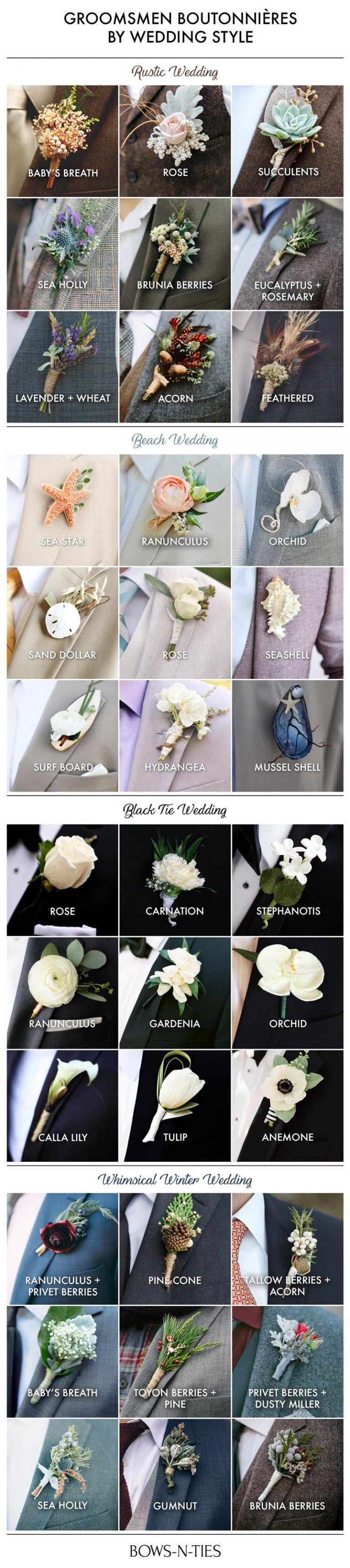 Wedding decorations traditional october 2018 Wedding Boutonnieres  Wedding in   Pinterest  Wedding