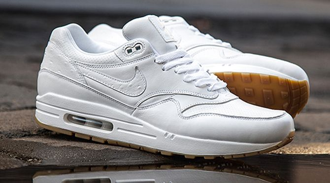 White Ostrich Nike Air Max 1s Just Released Sneakers Nike Air Max Nike Air Max White Nike Air Max