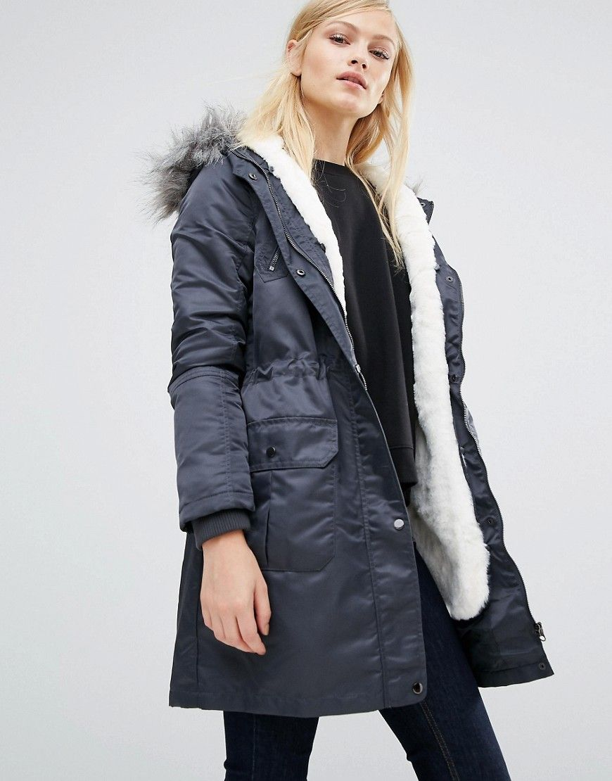 06f8ea5b169a Image 1 of Oasis Diana Detachable Lining Parka | Winter Coats for ...