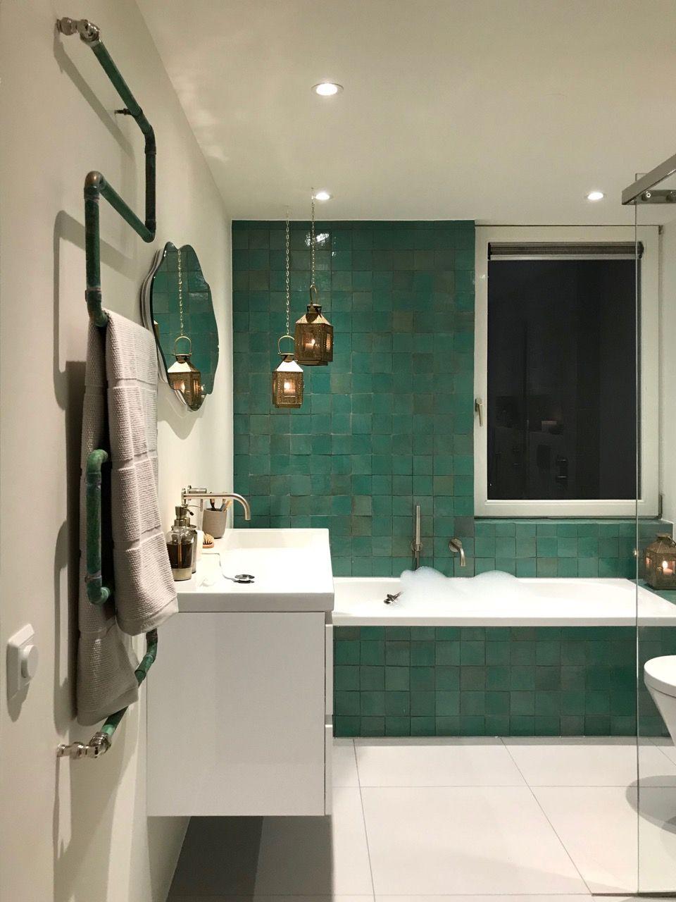 De modern-oosterse badkamer die wij maakten in Den Bosch: Een ...