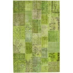 Photo of Patchwork Teppich 197×300 Moderner Teppich